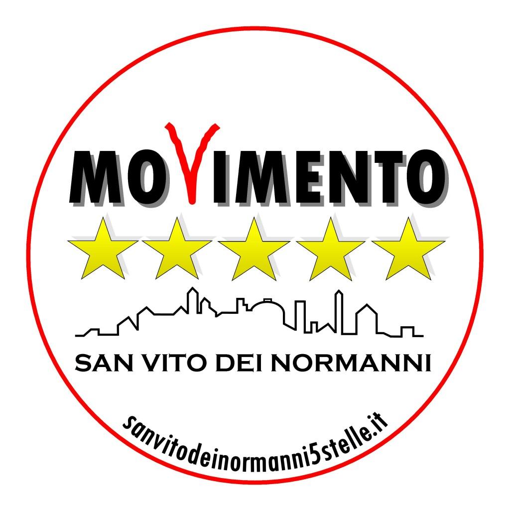Il nuovo logo di san vito dei normanni 5 stelle for Deputati movimento 5 stelle